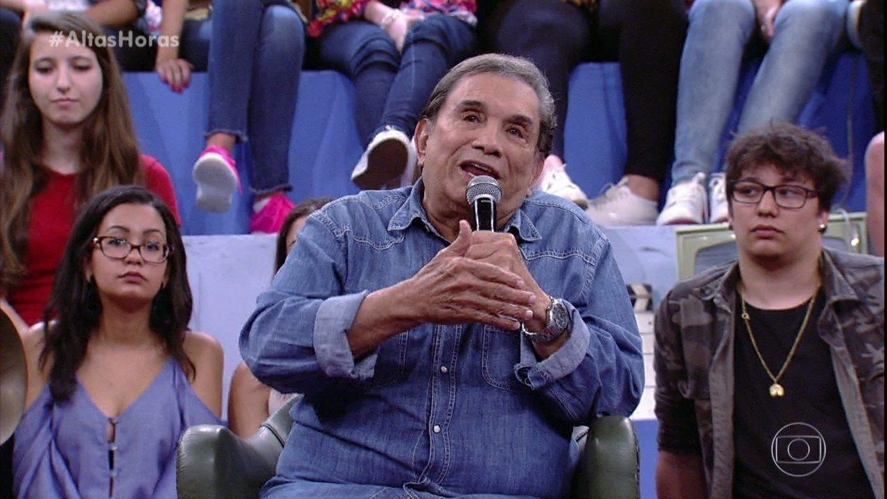 Dedé Santana fala sobre os desafios da carreira de ator