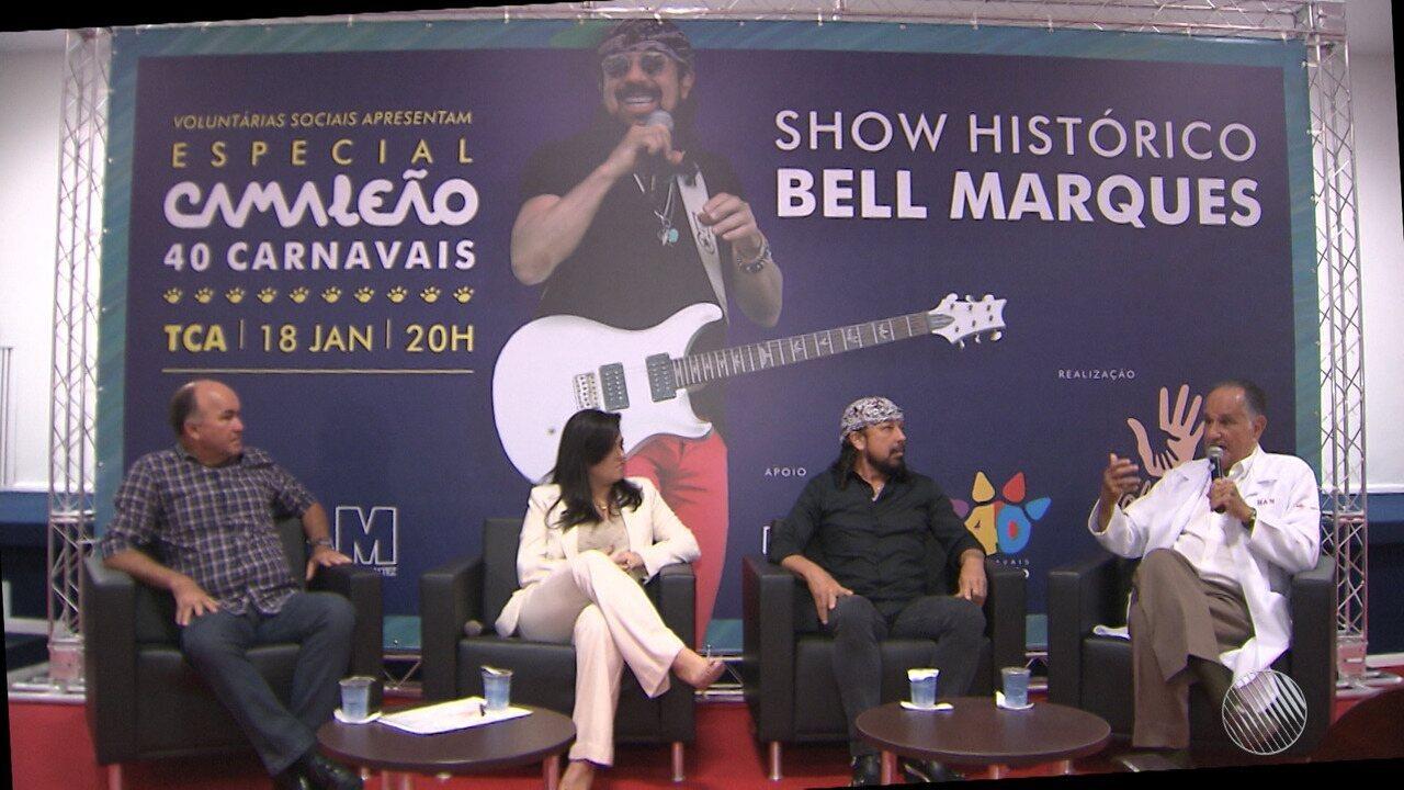 Hospital Aristides Maltez e Bell Marques promovem novo show solidário para arrecadar verba