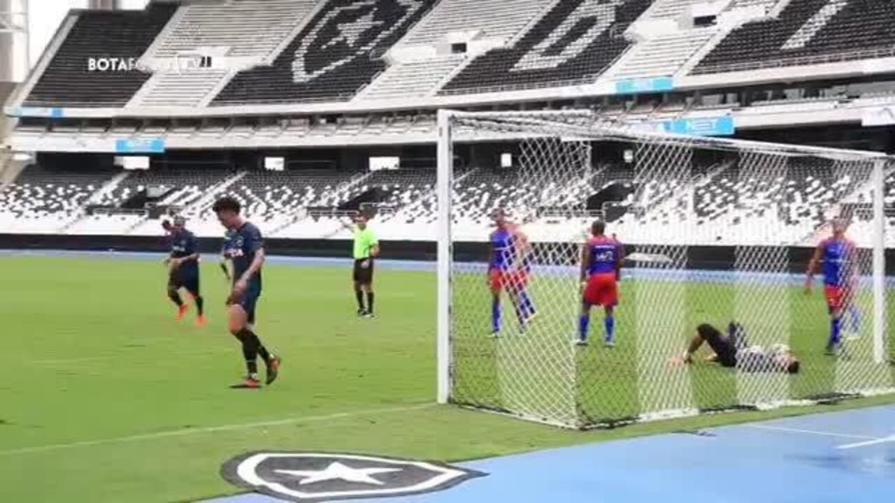 Veja o gol de Luis Ricardo em jogo-treino do Botafogo contra o Bonsucesso