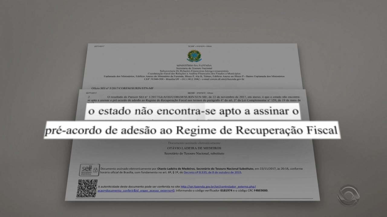 Ministério da Fazenda nega pedido do governo do RS de adesão a plano de recuperação fiscal