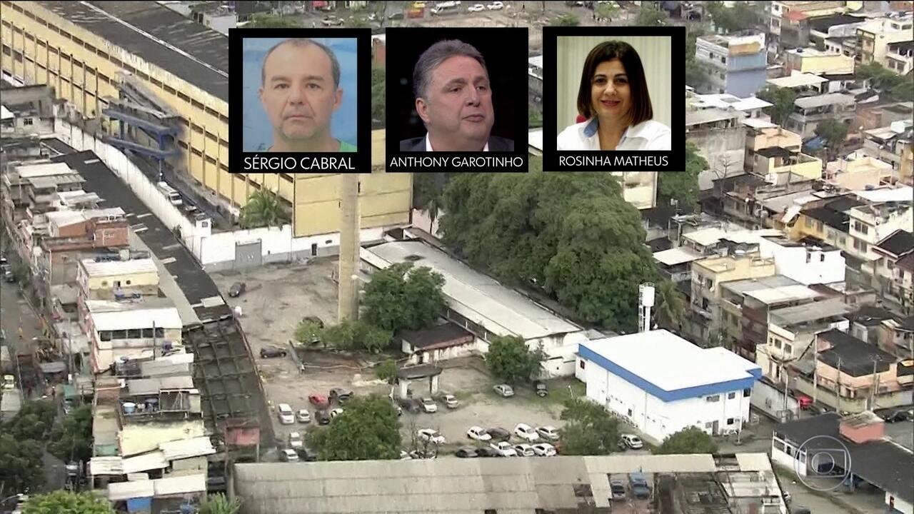 Os três últimos governadores do Rio estão no mesmo presídio