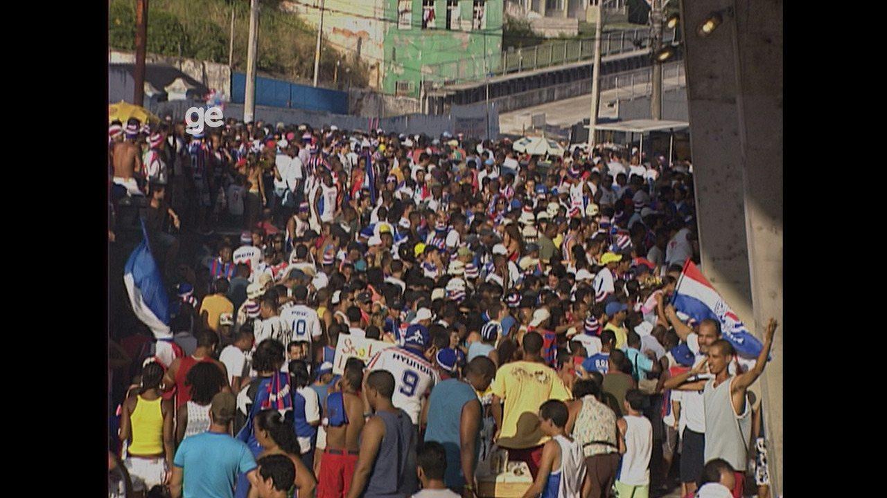 Dez anos de tragédia na Fonte Nova: partida histórica foi marcada por tumulto no estádio