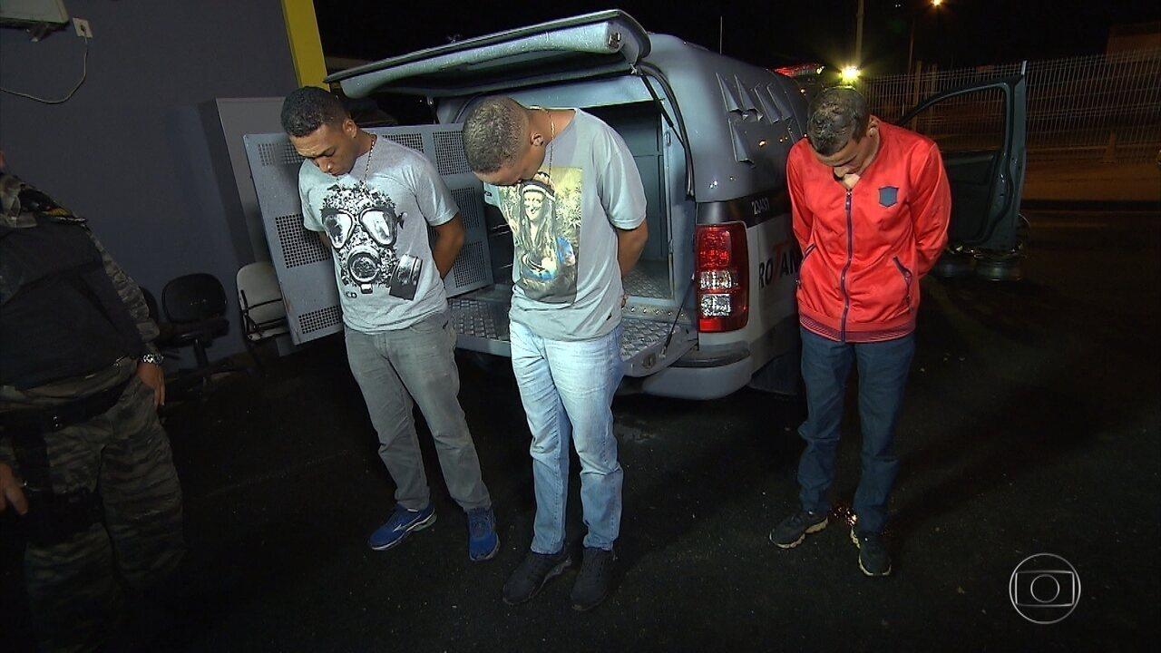 Polícia Militar desarticula quadrilha especializada em roubos de carros em MG