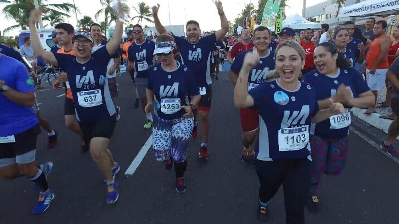 Vem verão! Participantes do 'Me Transforme para o Verão 2018' encaram corrida de 5 km