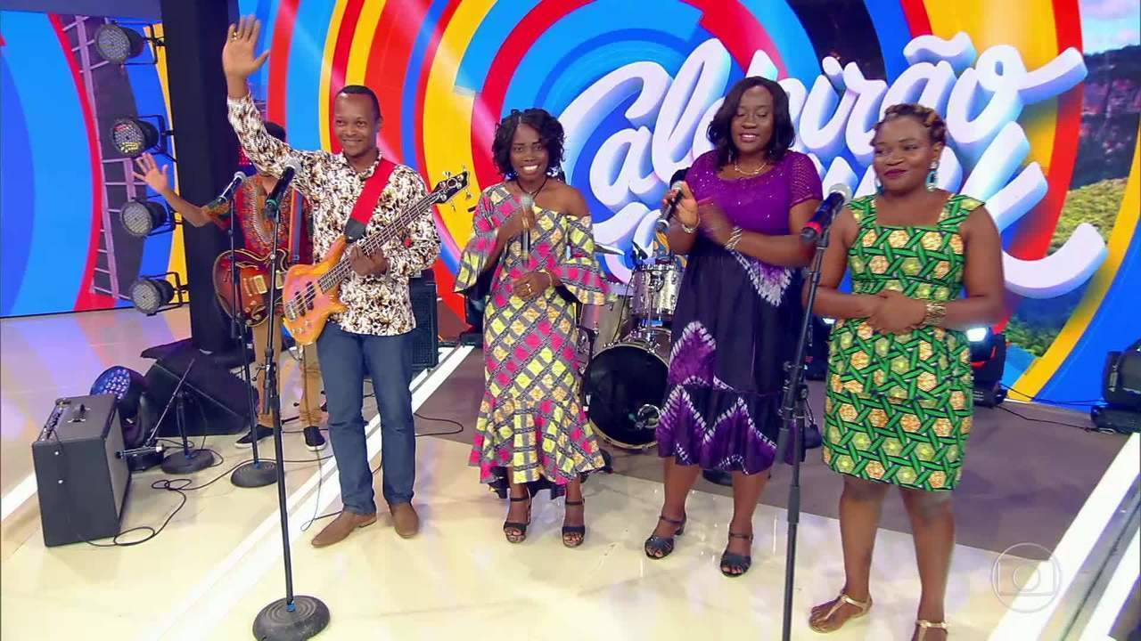 Festa congolesa começa nos palcos do Caldeirão