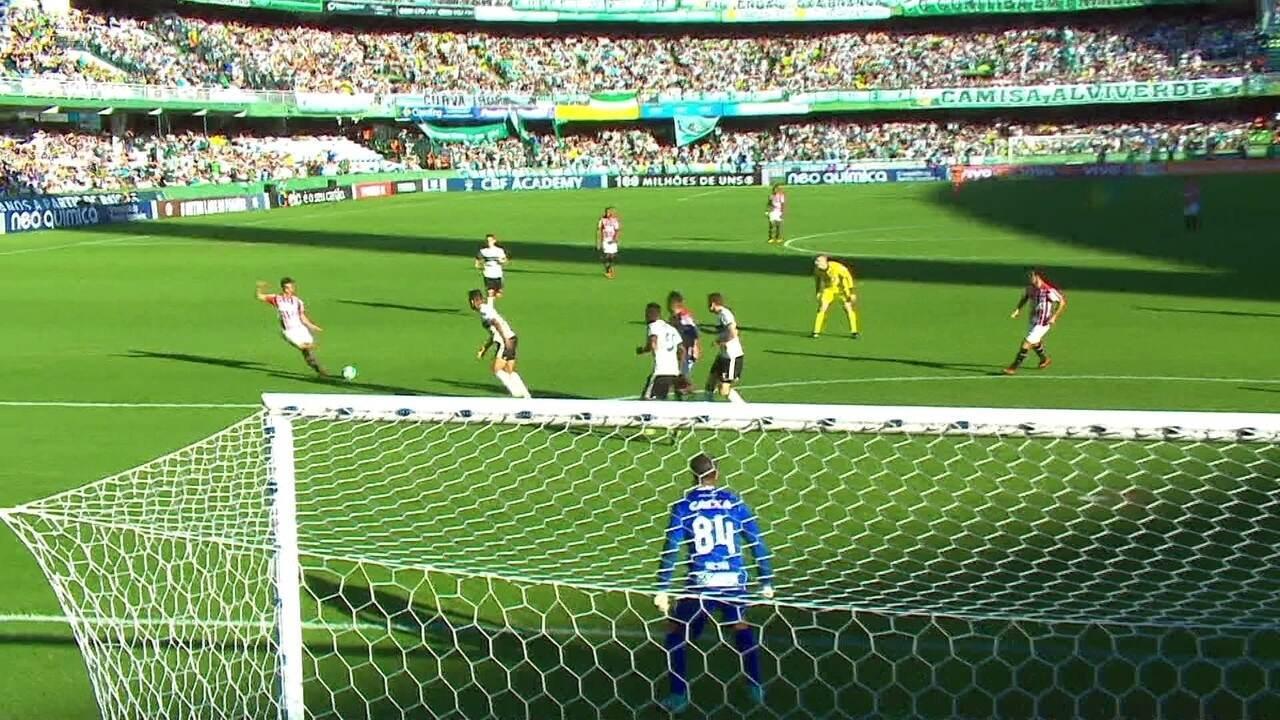 Os melhores momentos de Coritiba 1 x 2 São Paulo pela 37ª rodada do Brasileirão