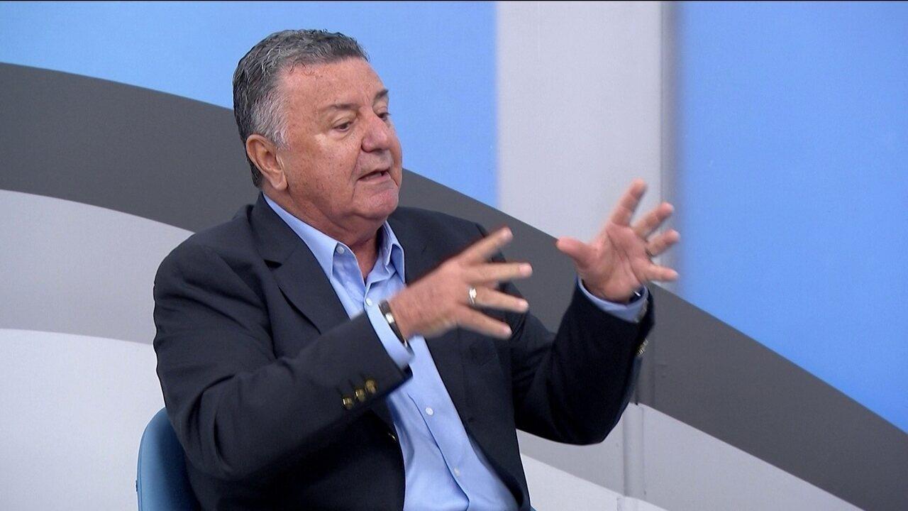 Arnaldo diz que pênalti em Jael foi de pelada, no primeiro jogo entre Grêmio e Lanús