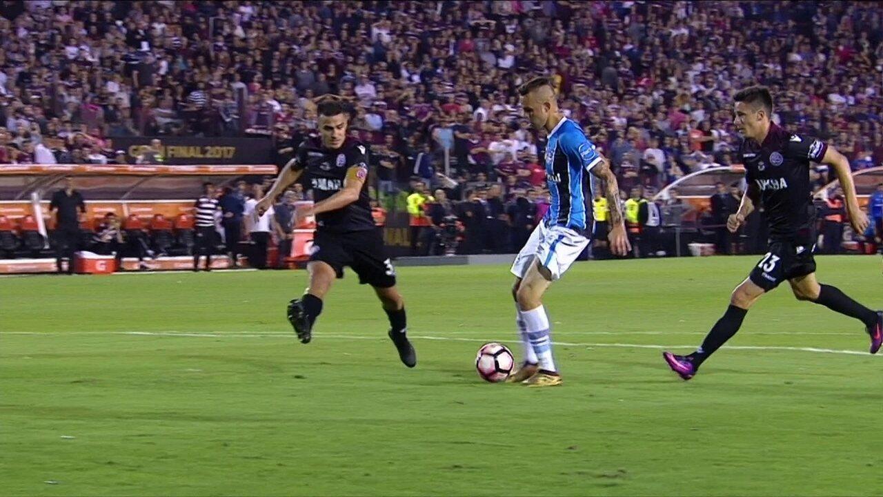 Melhores momentos: Lanús 1 x 2 Grêmio pela final da Taça Libertadores 2017