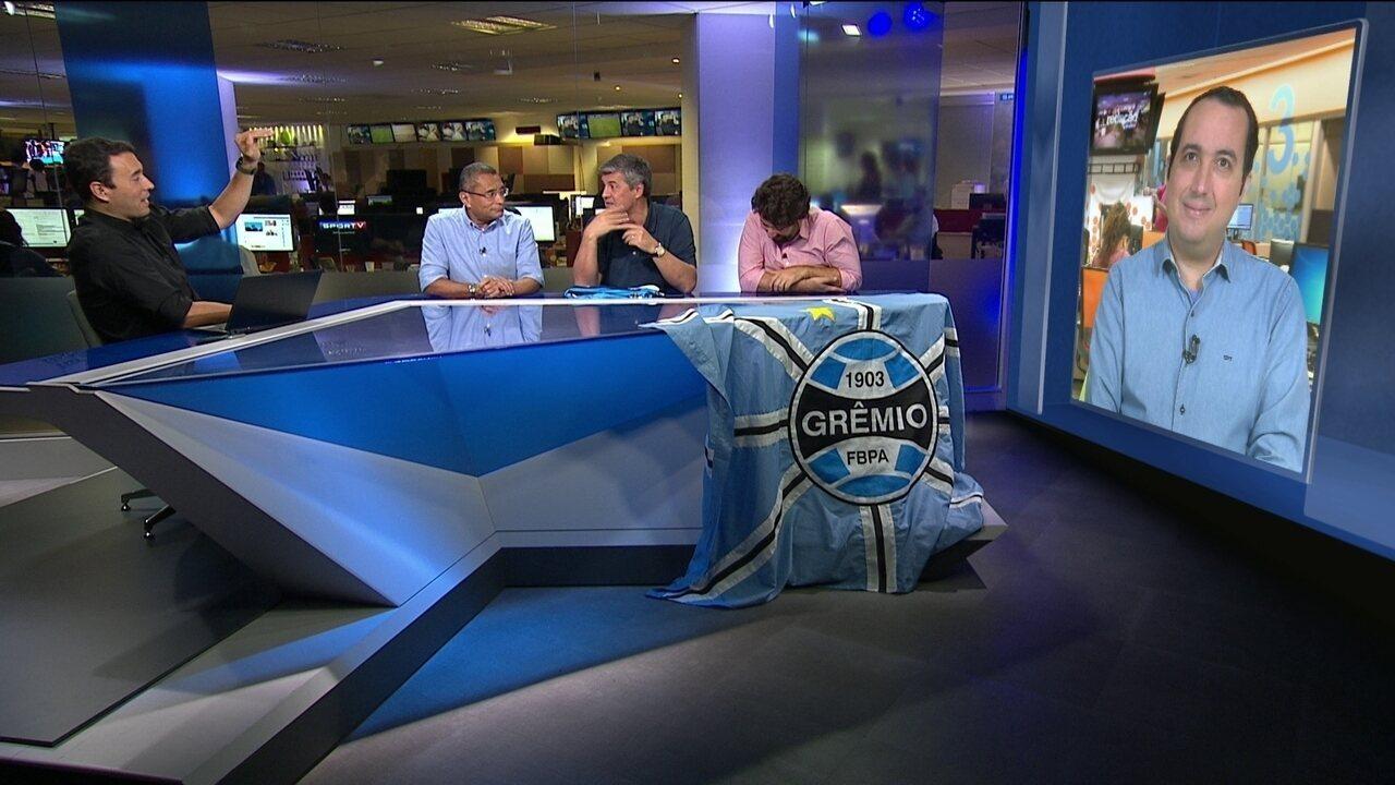 Vice do Grêmio fala em desrespeito do Barcelona em caso Arthur: