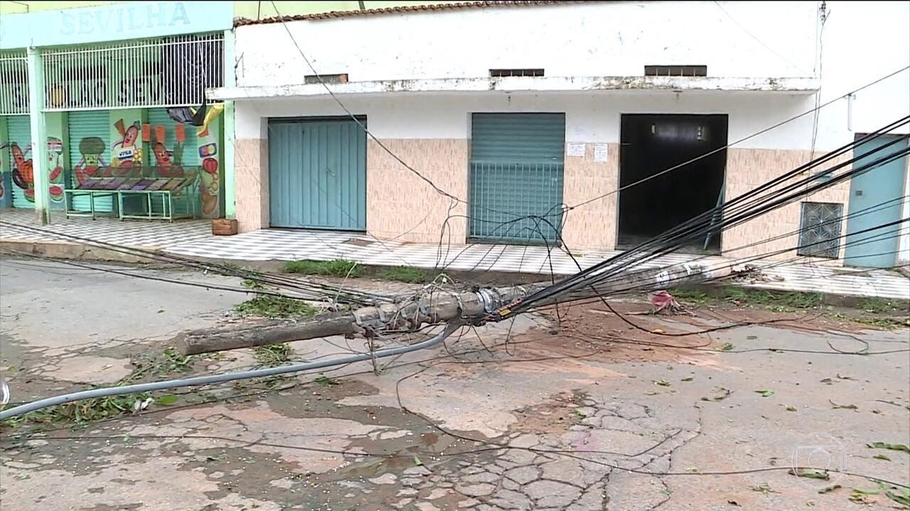 Chuva faz estragos na Região Metropolitana de Belo Horizonte