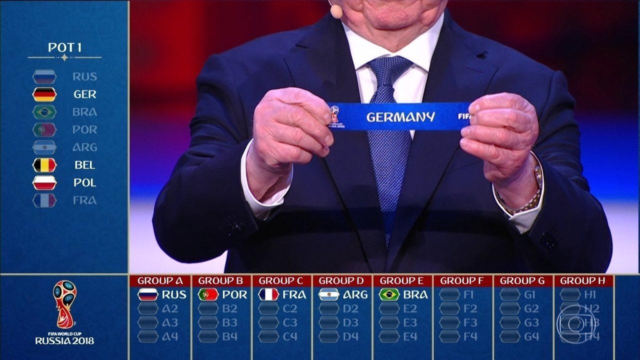 Alemanha, México, Suécia e Coreia do Sul estão no Grupo F