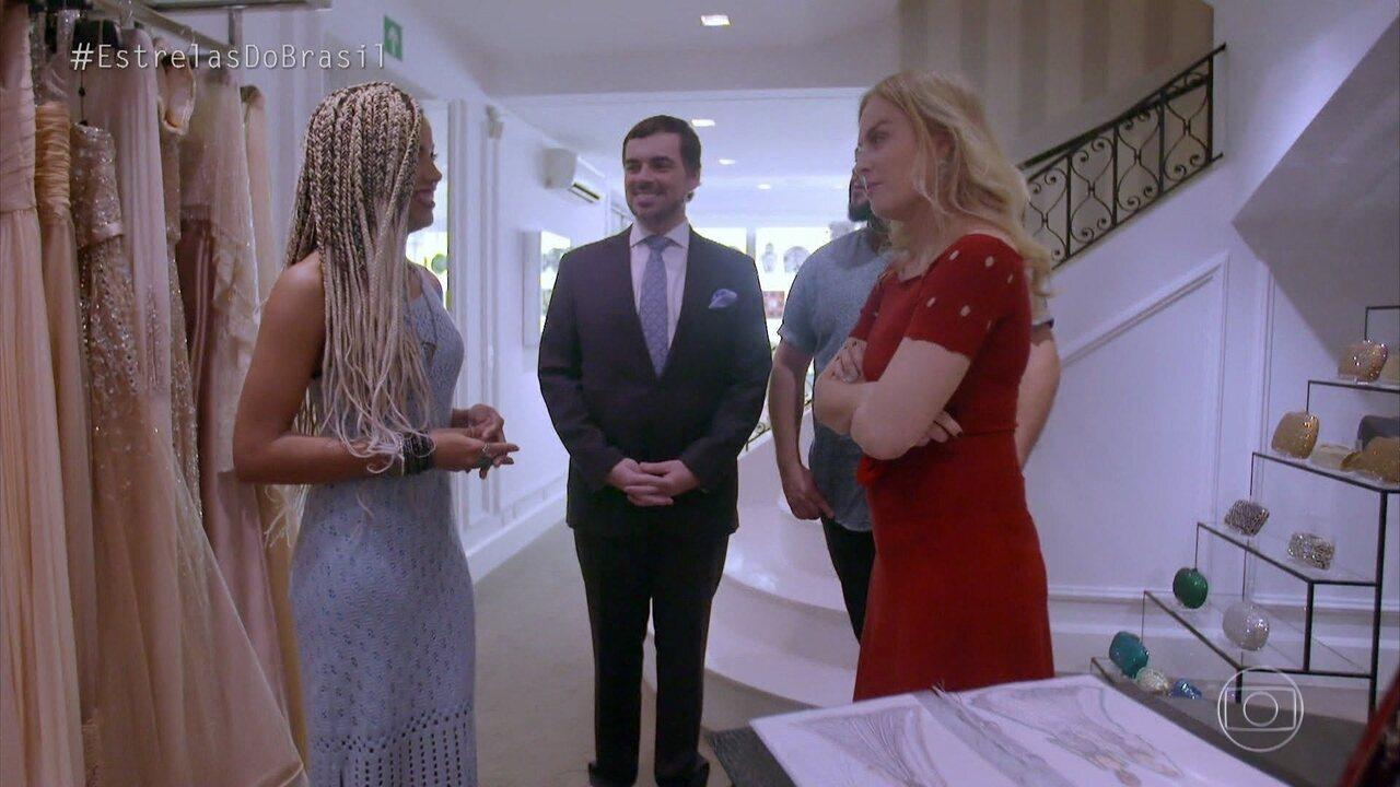 Angélica e Tiago Abravanel vão ajudar a montar casamento de Amanda