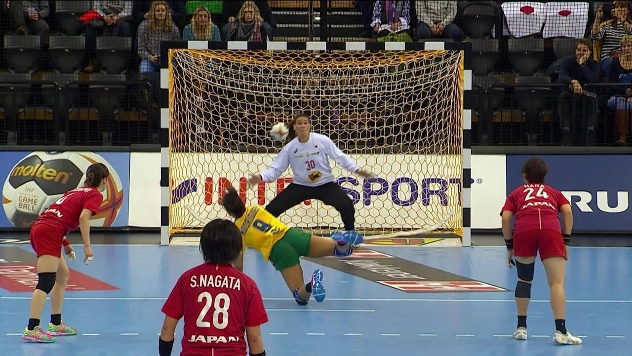 Melhores momentos: Brasil 28 x 28 Japão pelo Mundial de handebol feminino