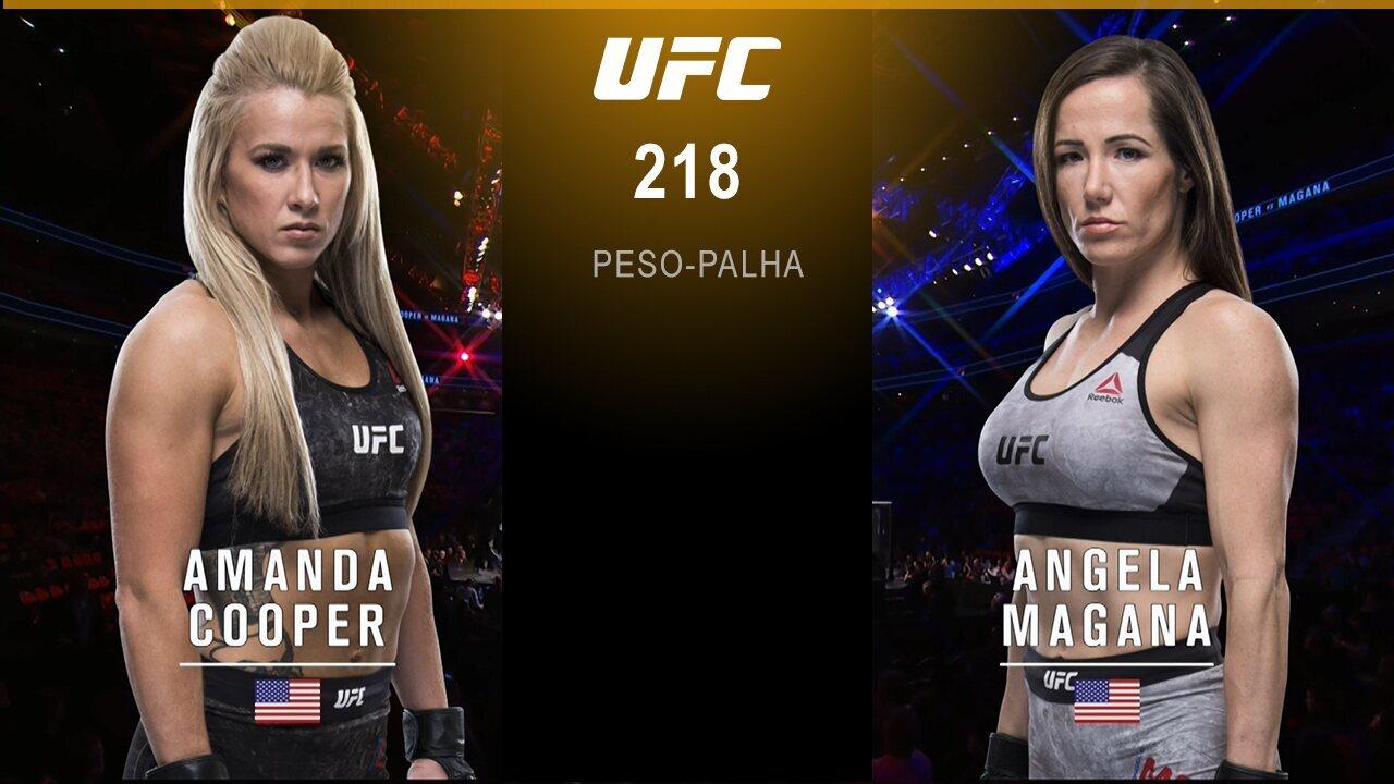 UFC 218: Holloway x Aldo 2 - Amanda Cooper x Angela Magaña