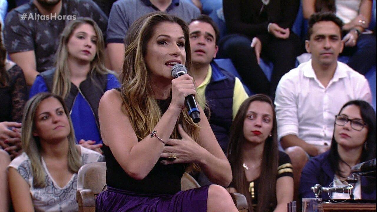 Ingrid Guimarães fala de show que fez sem público