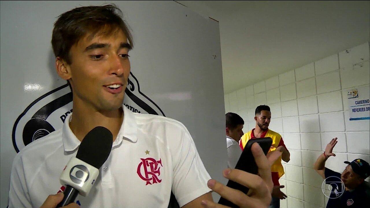 Flamengo se classifica para a final da Sul-Americana com boa participação do goleiro César