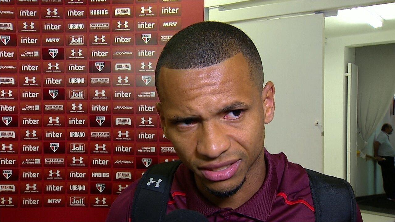 Edimar diz que assinou contrato de dois anos com o São Paulo