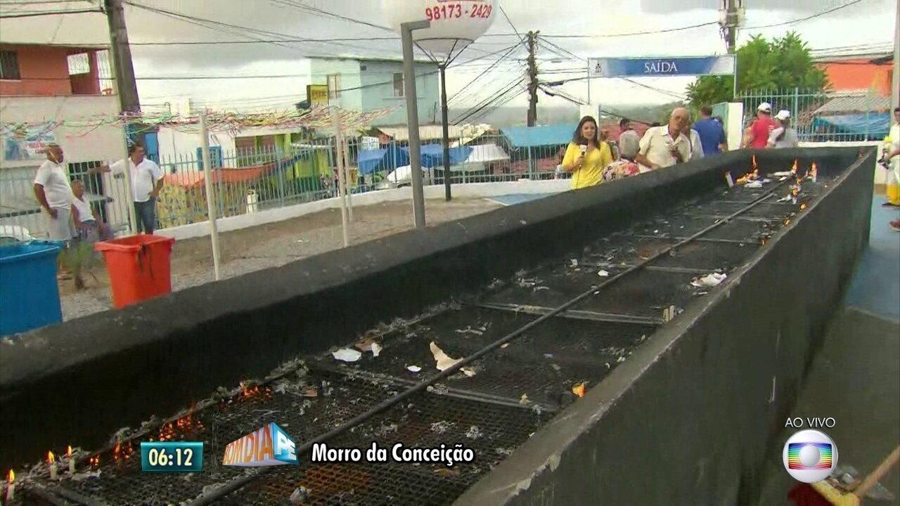 Agentes intensificam combate a mosquito na área da festa de Nossa Senhora da Conceição