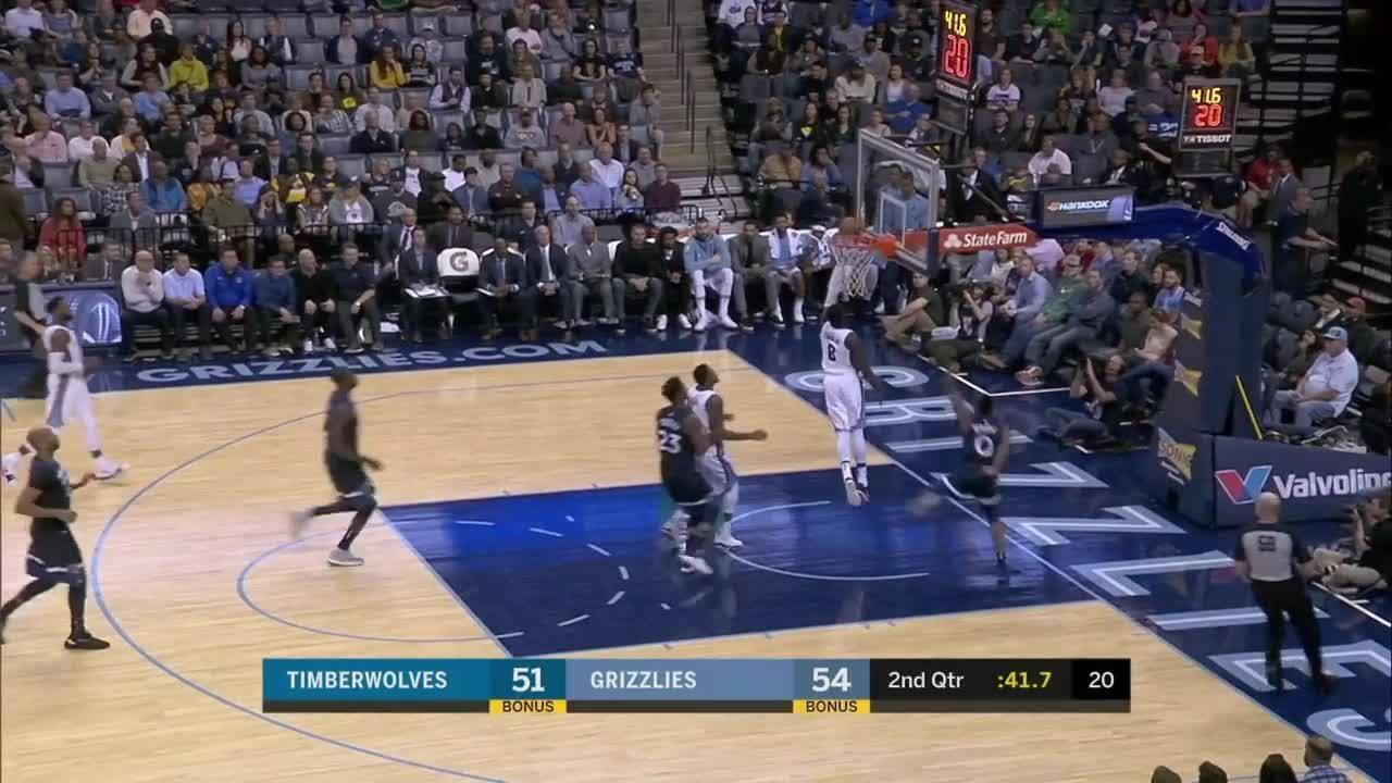 Melhores momentos: Memphis Grizzlies 95 x 92 Minnesota Timberwolves pela NBA