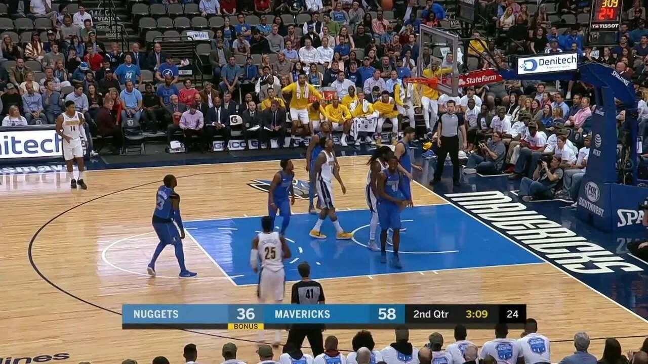 Melhores momentos: Dallas Mavericks 112 x 105 Denver Nuggets pela NBA
