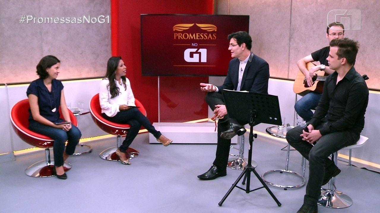 Promessas no G1: veja a entrevista com o padre Reginaldo Manzotti