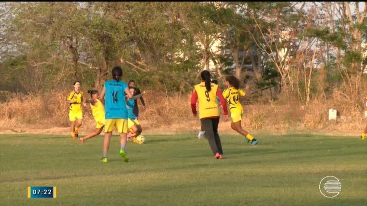 Tiradentes-PI e Teresina se preparam para confronto pelo Campeonato feminino
