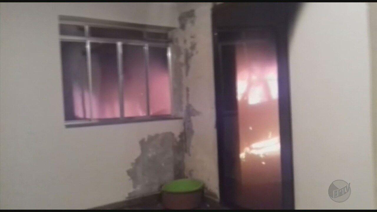 Carro de vereador é incendiado durante a madrugada em Maria da Fé (MG)