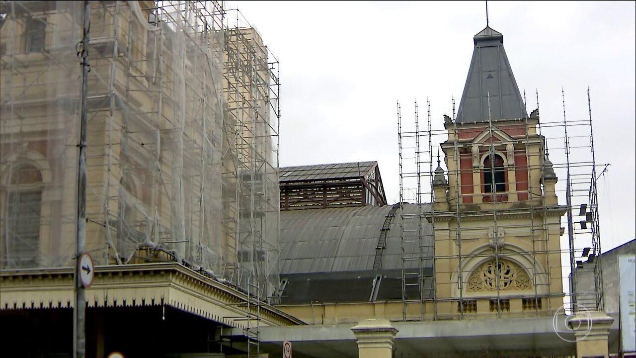 Entregue primeira das três fases da restauração do Museu da Língua Portuguesa