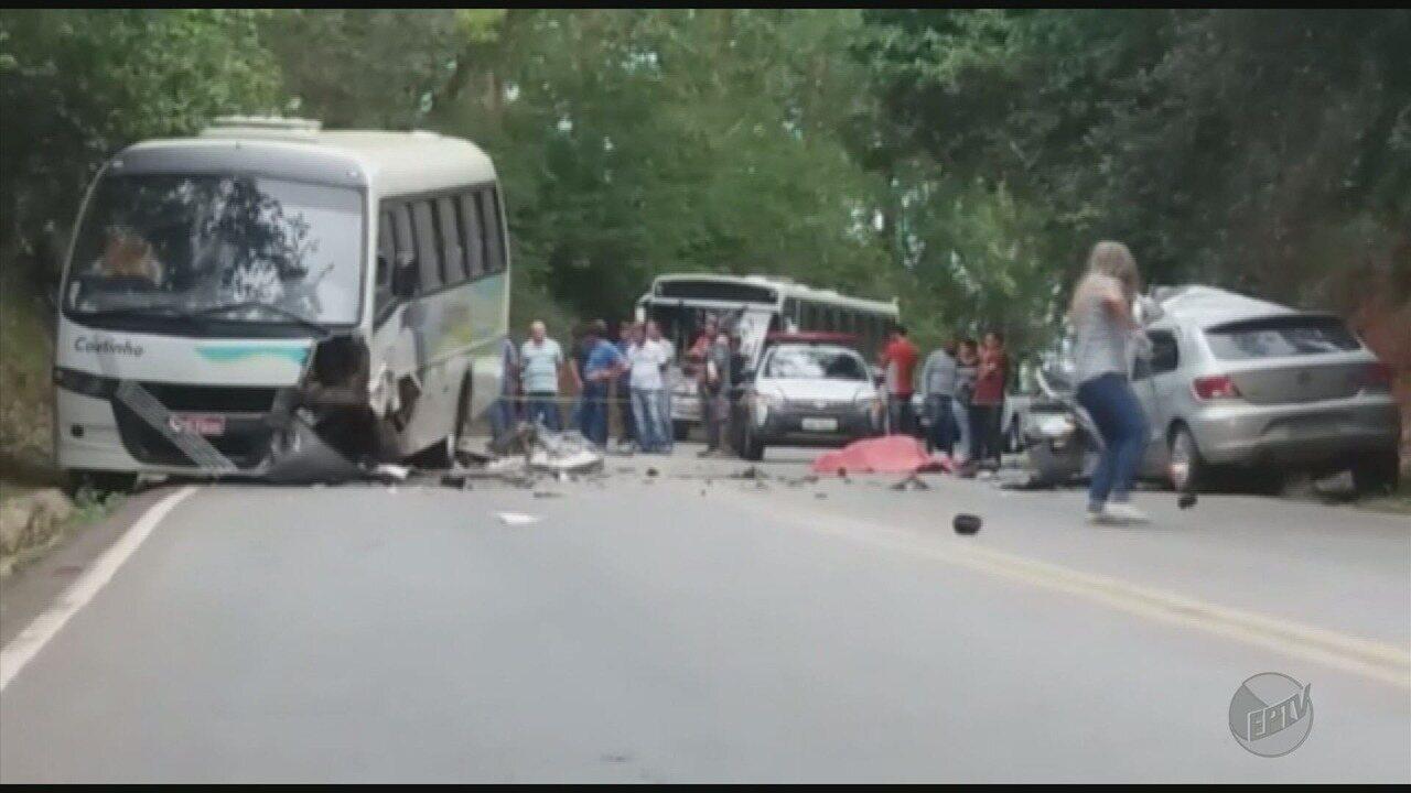 Uma pessoa morre e duas ficam feridas em acidente em Três Corações (MG)