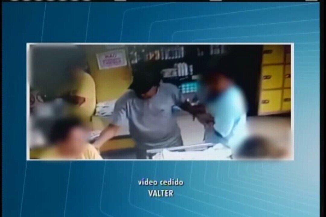 Supermercado é alvo de assaltantes no Bairro Alfredo Freire em Uberaba