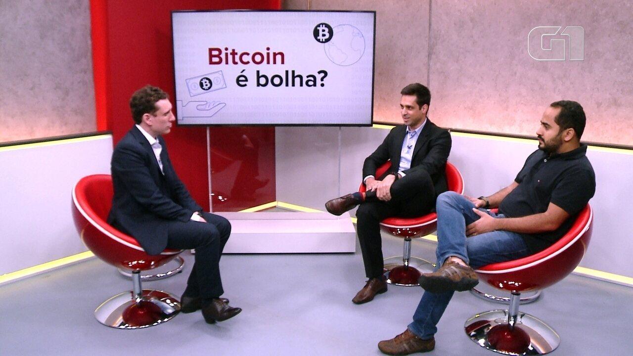 G1 ao vivo: Bitcoin é bolha?