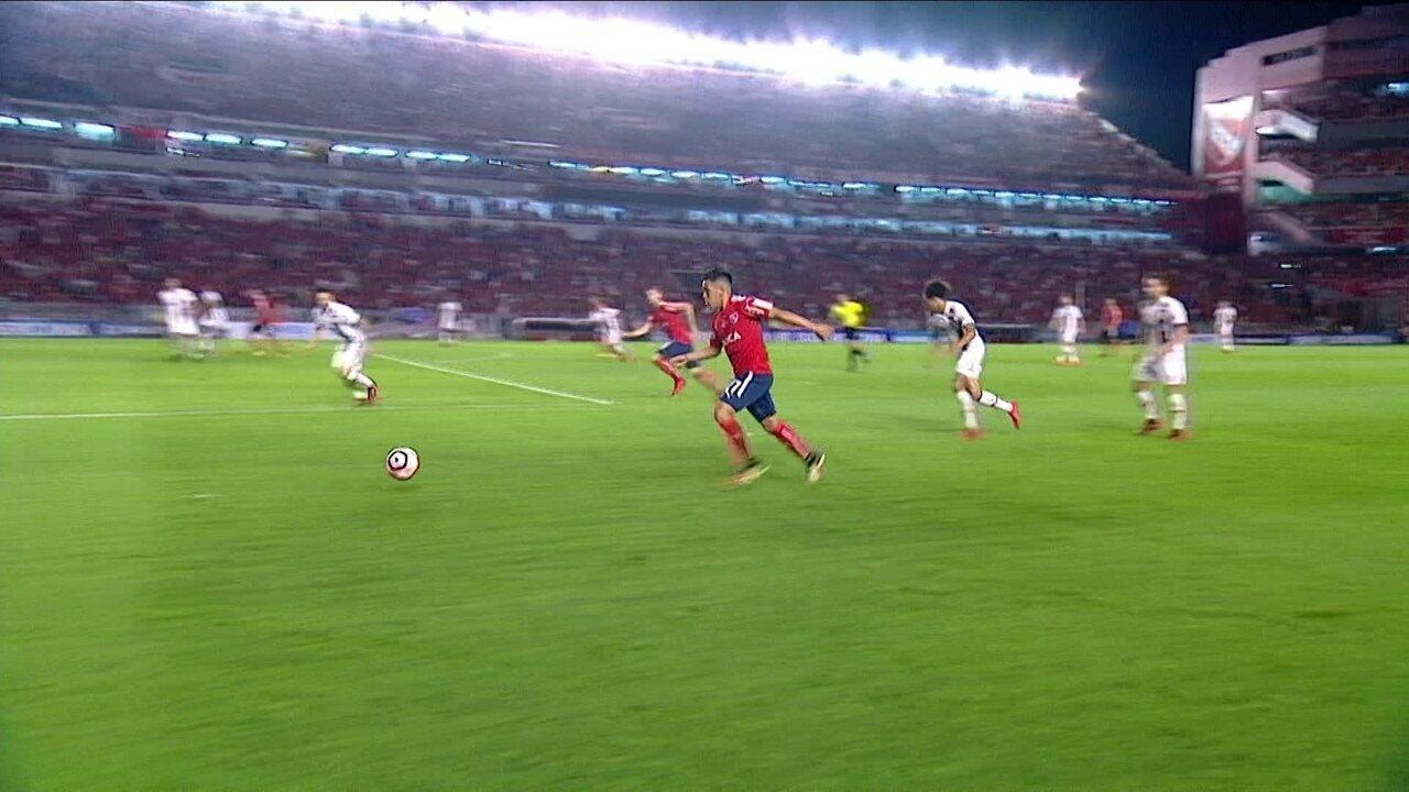 Melhores momentos: Independiente-ARG 2 x 1 Flamengo pela final da Copa Sul-Americana