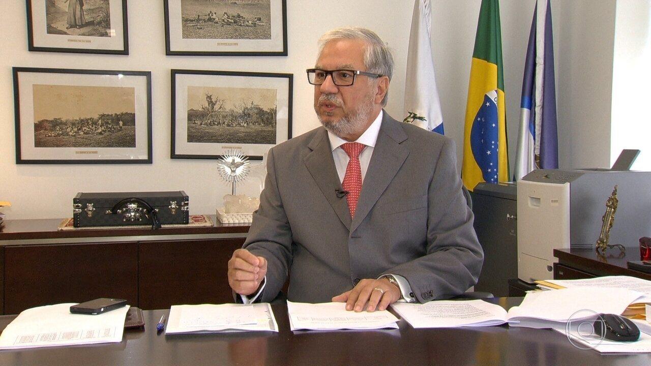 Justiça suspende aposentadoria de ex-presidente do Tribunal de Contas do Estado