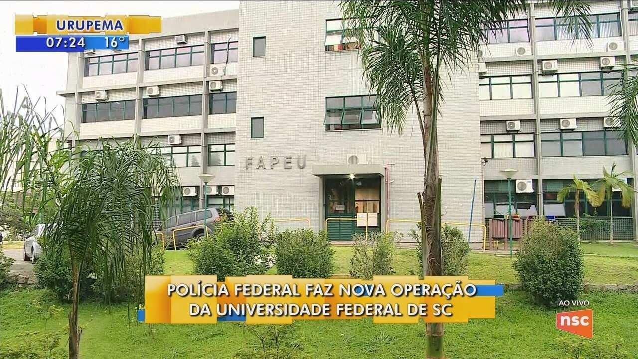 Polícia Federal faz nova operação na UFSC