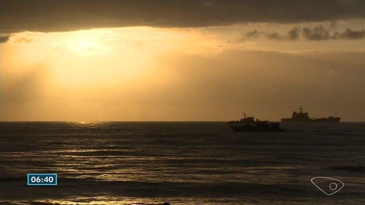 Quase 3 mil militares participam de treinamento da Marinha em Itapemirim, ES