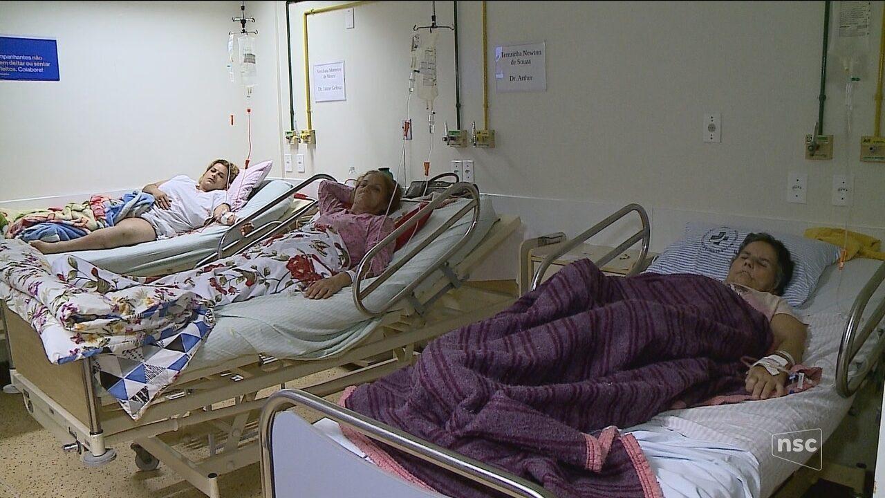 Emergência do hospital de Tubarão volta a atender novos pacientes