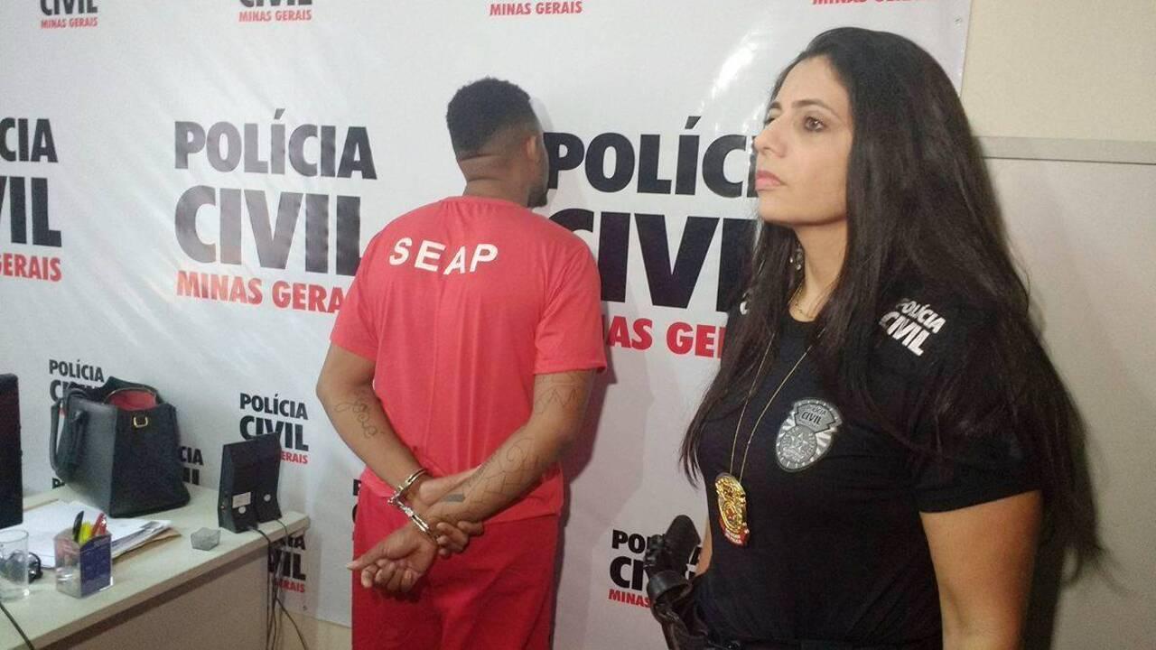 Polícia Civil apresenta suspeito de agredir ex-companheira em Juiz de Fora
