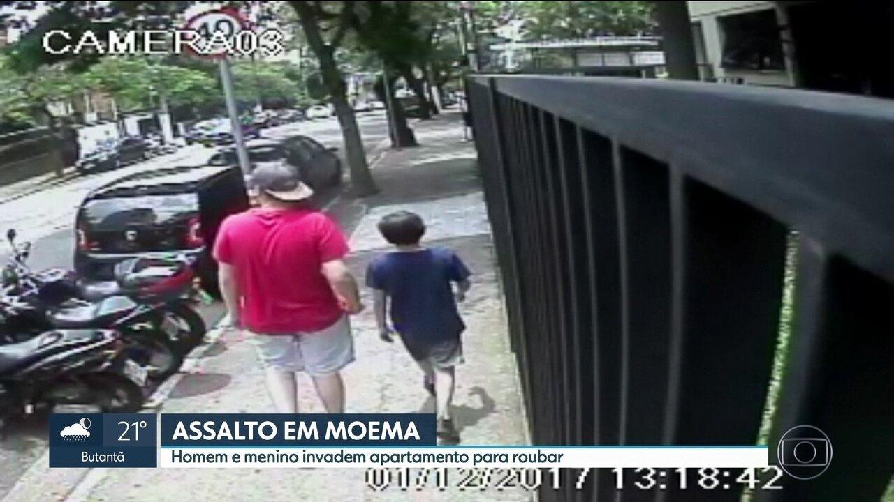 Polícia prende homem que faz parte de quadrilha que rouba apartamentos na Zona Sul