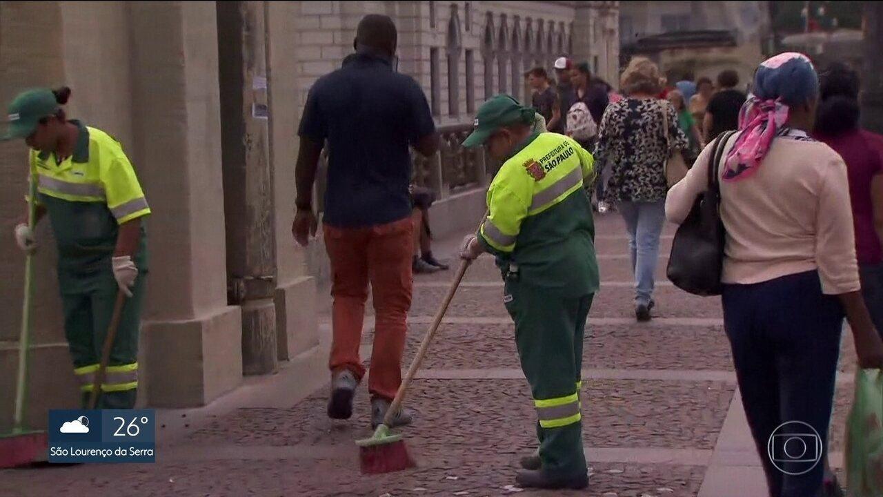 Contrato para varrição das ruas da capital vence na semana que vem