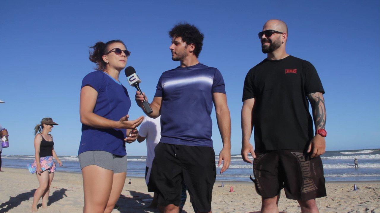 'MTV 2018': acompanhe um treino funcional à beira mar