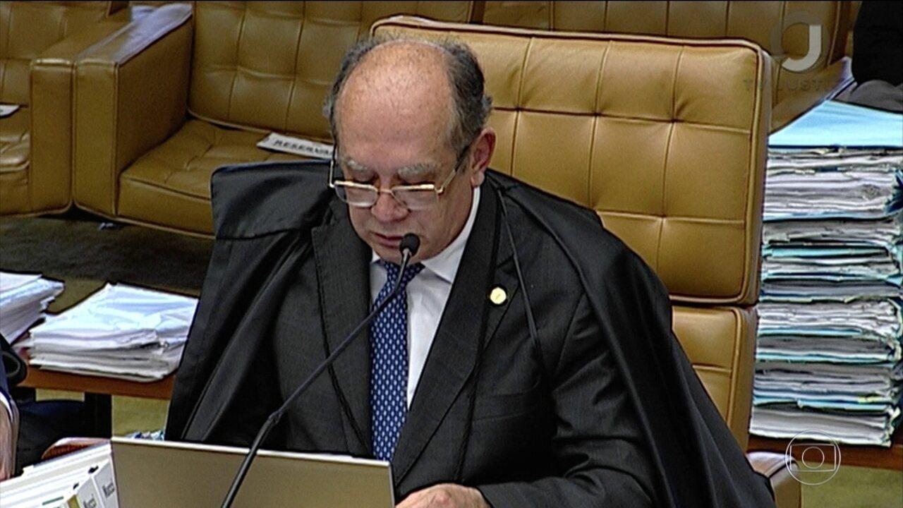 Veja como votou Gilmar Mendes no julgamento sobre se assembleias legislativas podem revogar prisão de deputados