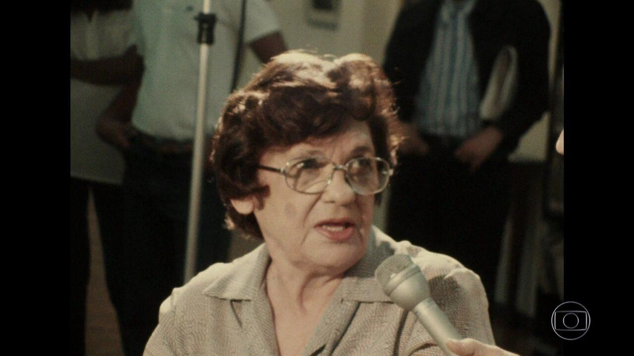 Bial mostra imagens raras da mãe de Gal Costa