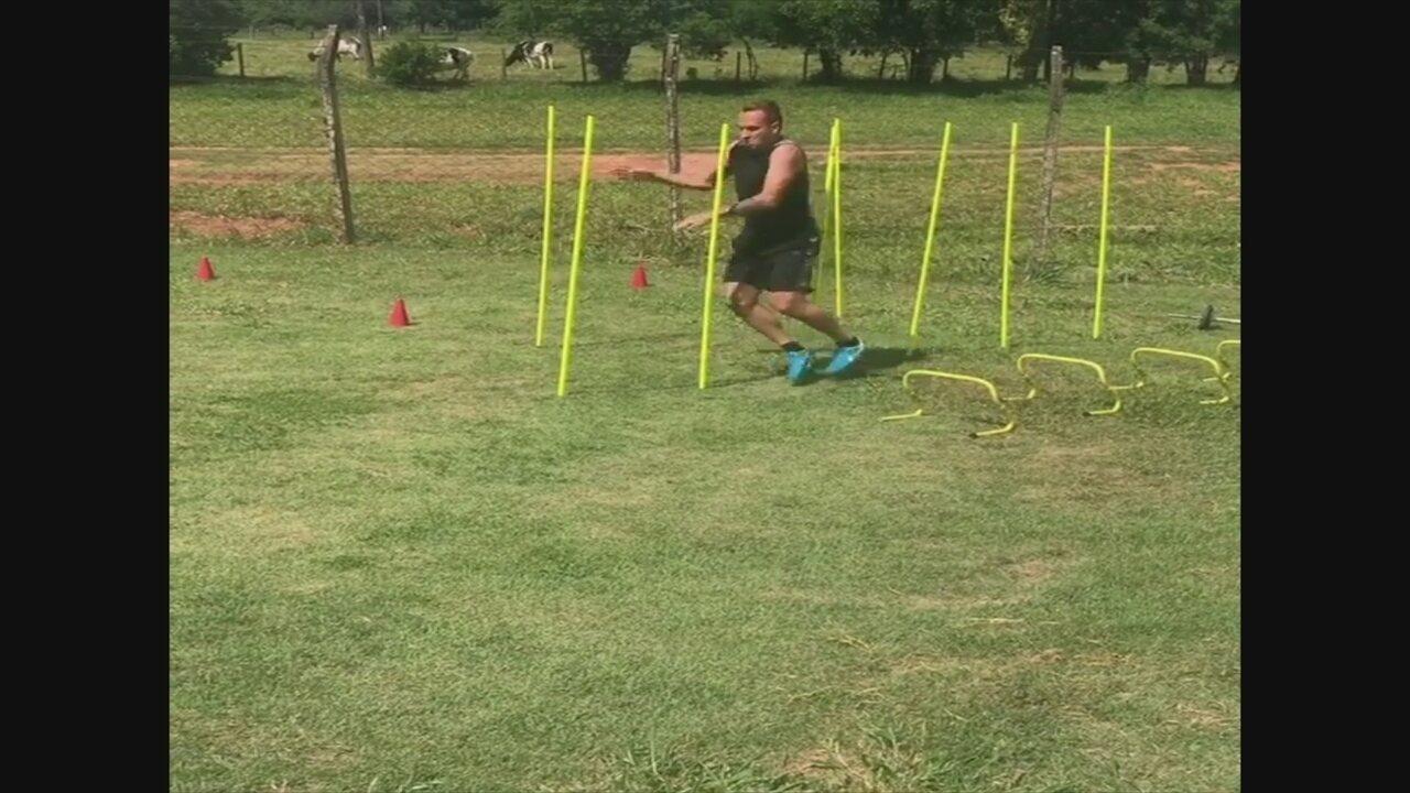 Zé Love se prepara para temporada 2018 com treinos nas férias