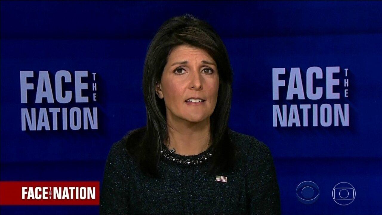 Embaixadora dos EUA na ONU diz que mulheres têm que ser ouvidas
