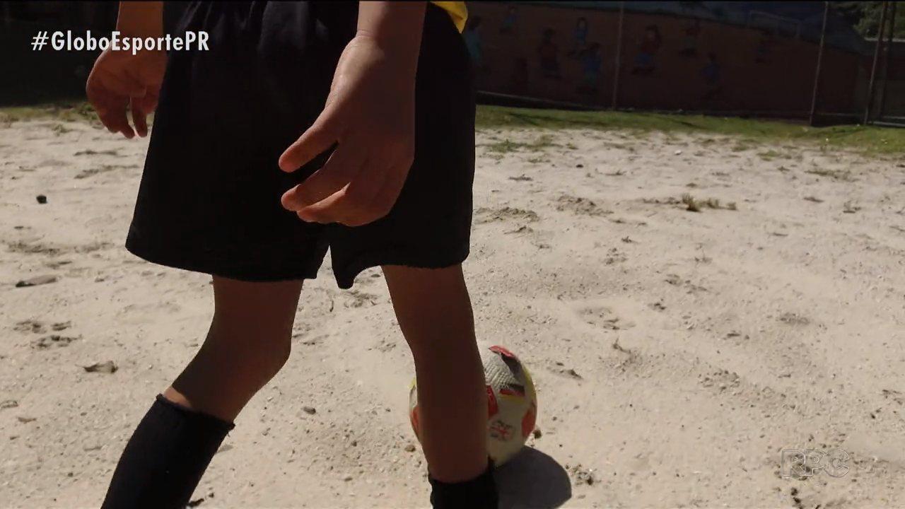 Série do Globo Esporte mostra como é a realidade da maioria dos jogadores brasileiros