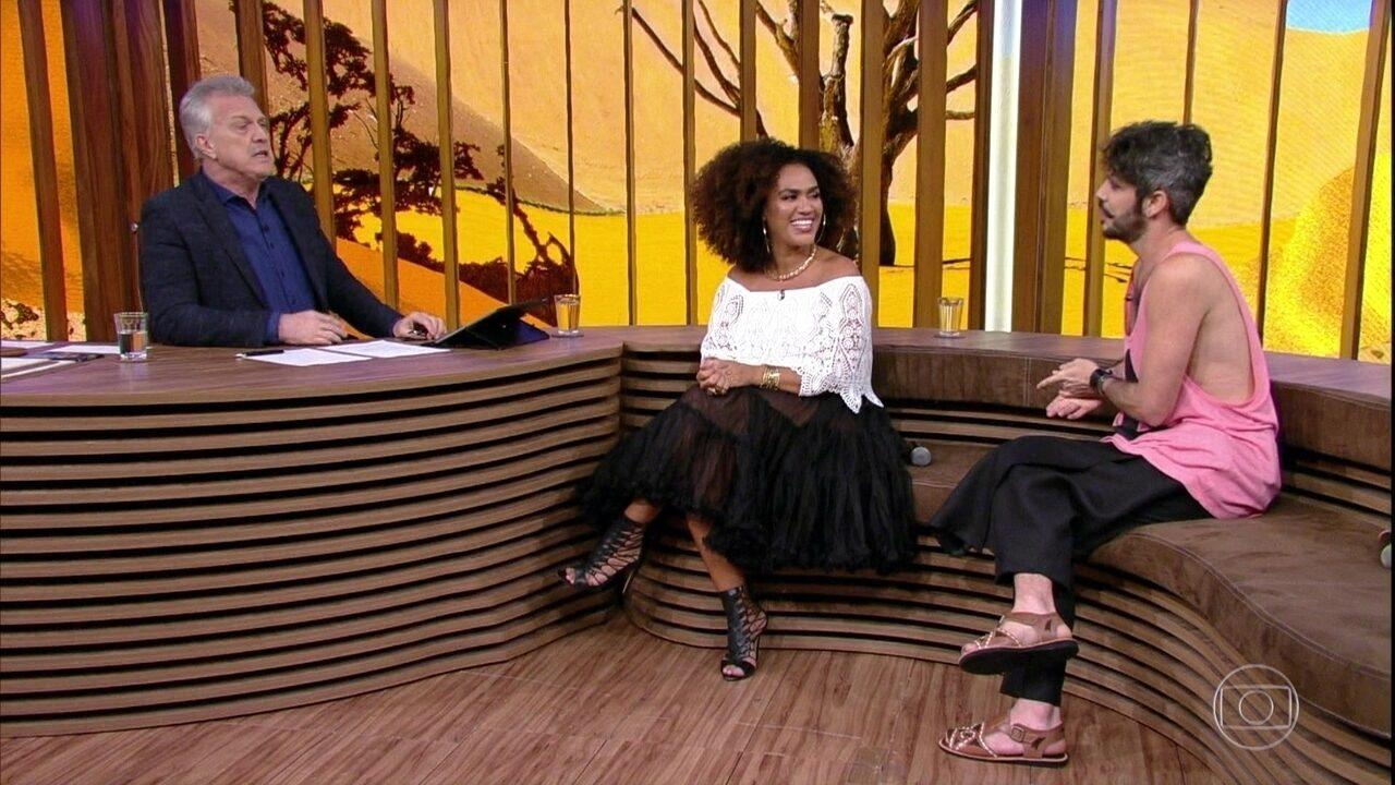 Mariene de Castro e Almério contam como se conheceram