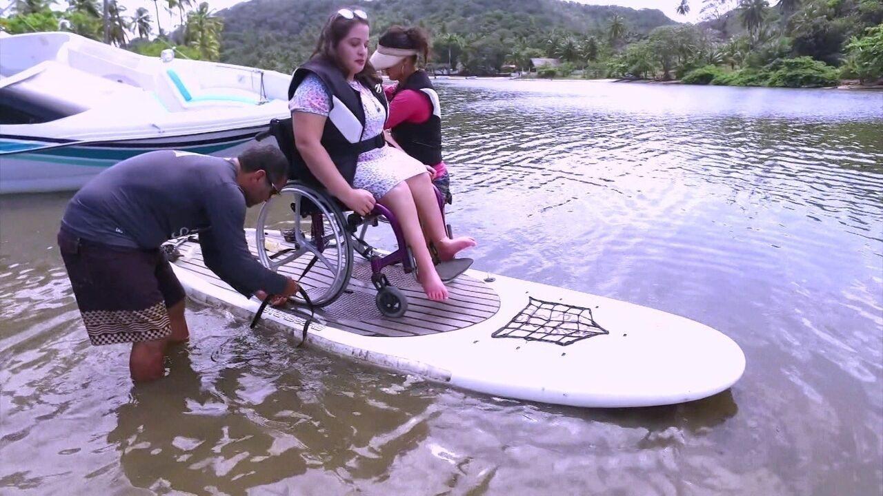 Resultado de imagem para Passeios turísticos são adaptados para pessoas com deficiência física em Alagoas