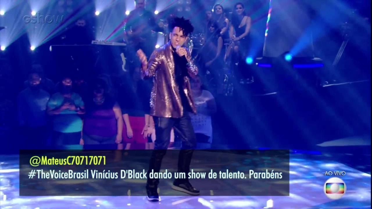 Confira a trajetória de D'Black no The Voice Brasil