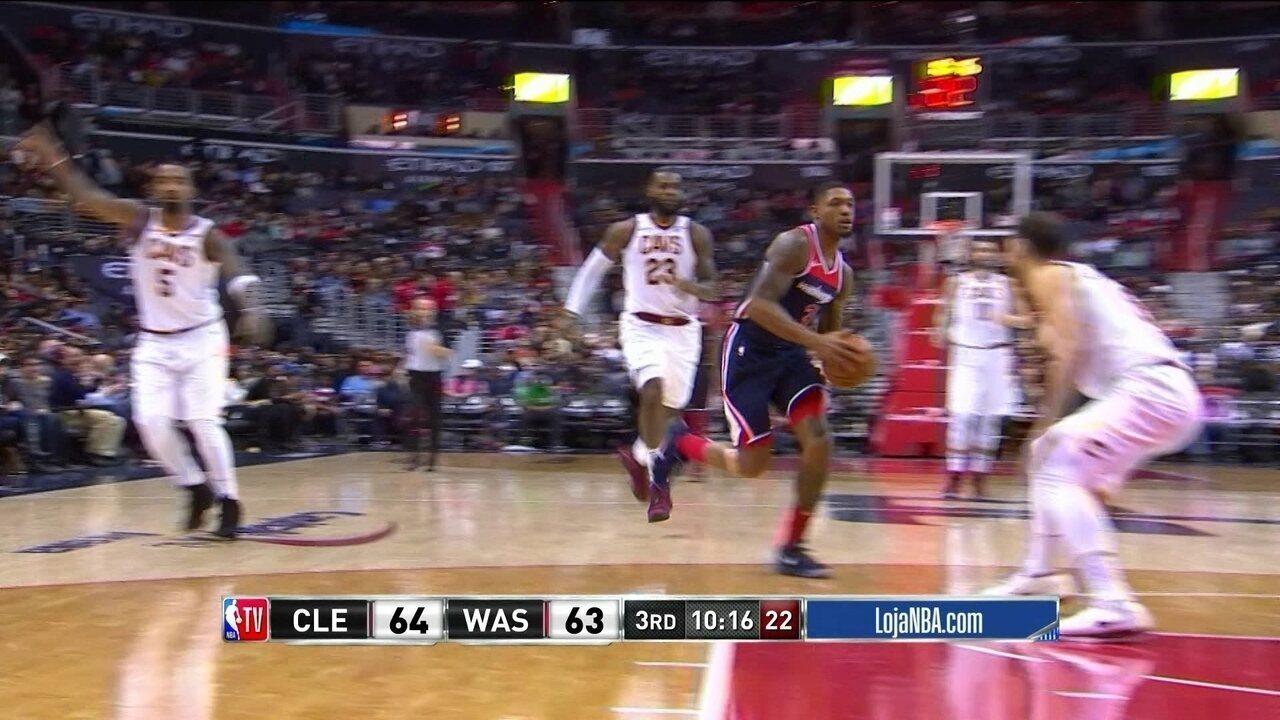 Melhores momentos: Washington Wizards 99 x 106 Cleveland Cavaliers pela NBA
