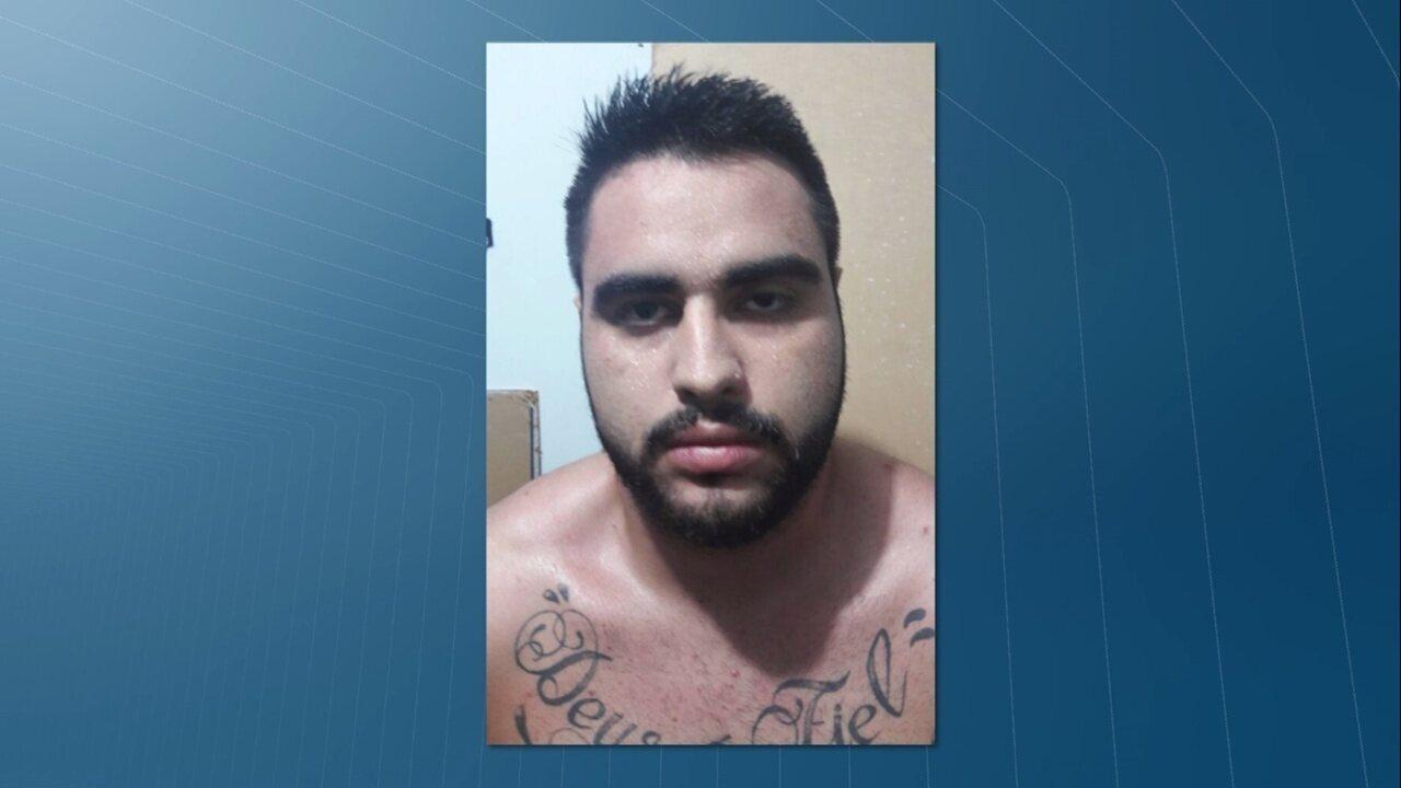 Willy Fragoso, filho de um juiz do TJPB, foi preso em João Pessoa suspeito de assaltos na orla